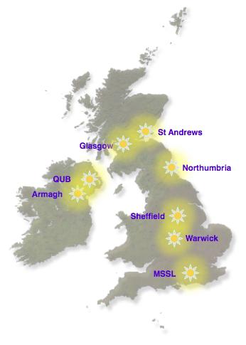 The UK DKIST consortium institutes